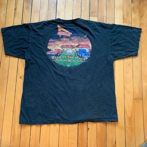 [vintage] • men's black in-n-out burger t-shirt